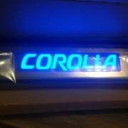 Nẹp bước chân có đèn Corolla Altis